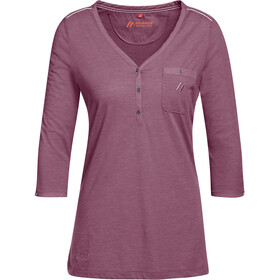 Maier Sports Clare 3/4 Shirt Women tulipwood melange